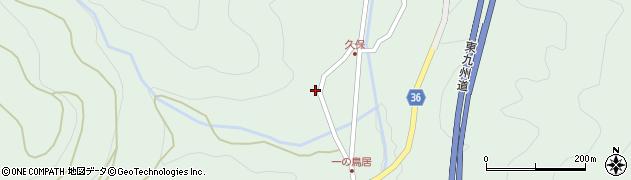 大分県佐伯市弥生大字床木2211周辺の地図