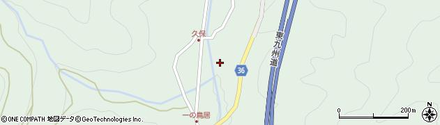 大分県佐伯市弥生大字床木1660周辺の地図