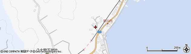 大分県佐伯市護江587周辺の地図