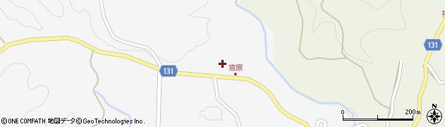 大分県竹田市久住町大字白丹1577周辺の地図