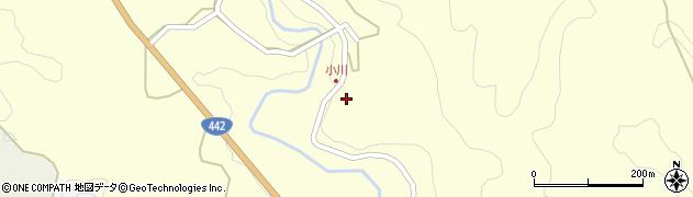 大分県竹田市小川1250周辺の地図