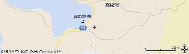 大分県佐伯市高松浦573周辺の地図