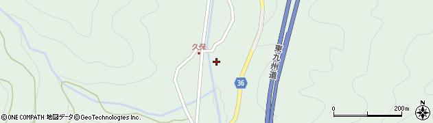 大分県佐伯市弥生大字床木1663周辺の地図