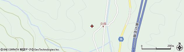 大分県佐伯市弥生大字床木2185周辺の地図