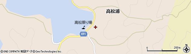 大分県佐伯市高松浦582周辺の地図