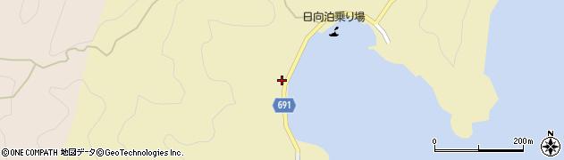 大分県佐伯市日向泊浦507周辺の地図