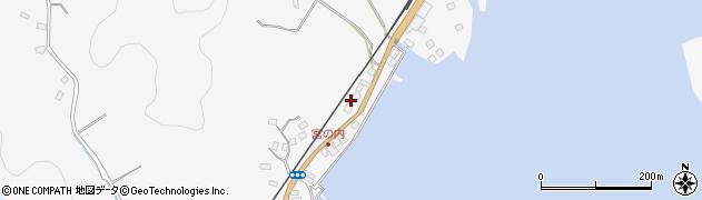 大分県佐伯市護江625-1周辺の地図
