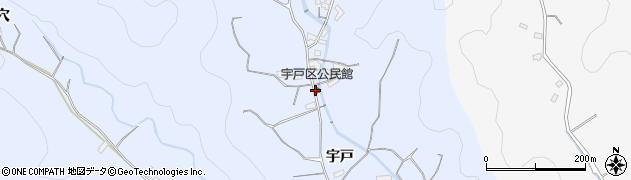 大分県佐伯市戸穴2155周辺の地図