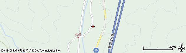 大分県佐伯市弥生大字床木1738周辺の地図