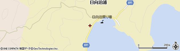 大分県佐伯市日向泊浦164周辺の地図