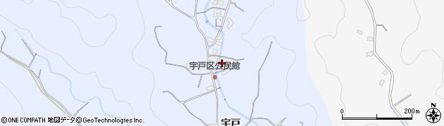 大分県佐伯市戸穴2164周辺の地図