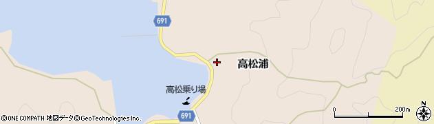 大分県佐伯市高松浦603周辺の地図