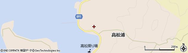大分県佐伯市高松浦750周辺の地図