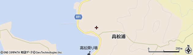 大分県佐伯市高松浦678周辺の地図