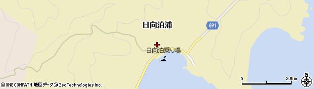 大分県佐伯市日向泊浦142周辺の地図