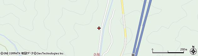 大分県佐伯市弥生大字床木2100周辺の地図