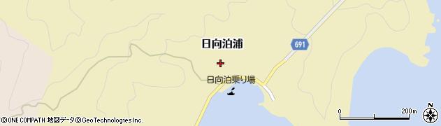 大分県佐伯市日向泊浦145周辺の地図