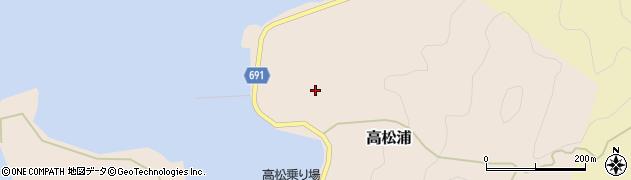 大分県佐伯市高松浦734周辺の地図
