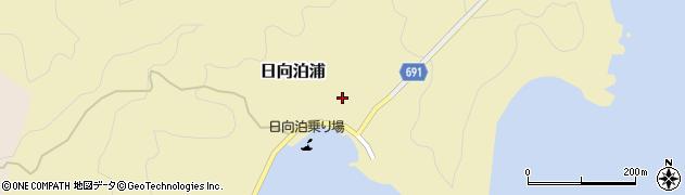 大分県佐伯市日向泊浦106周辺の地図