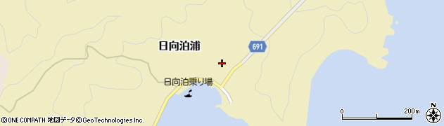 大分県佐伯市日向泊浦99周辺の地図