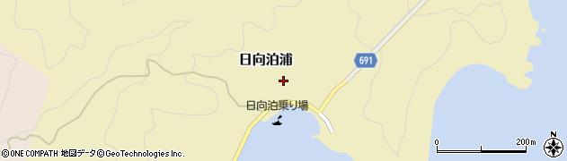 大分県佐伯市日向泊浦123周辺の地図