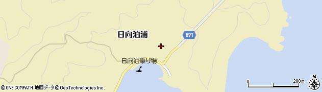 大分県佐伯市日向泊浦108周辺の地図