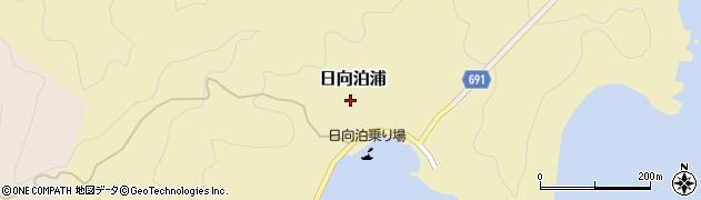 大分県佐伯市日向泊浦周辺の地図