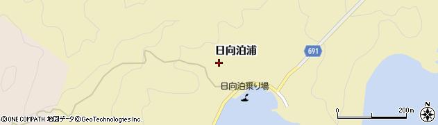 大分県佐伯市日向泊浦184周辺の地図