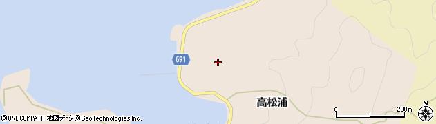 大分県佐伯市高松浦733周辺の地図