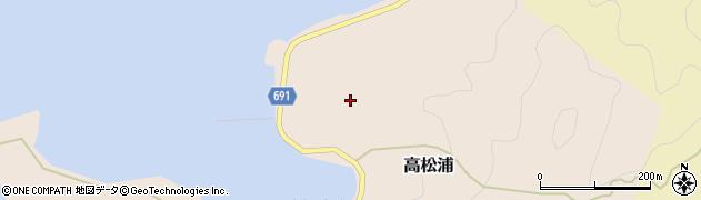 大分県佐伯市高松浦727周辺の地図