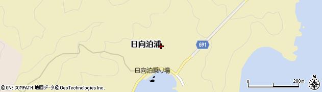 大分県佐伯市日向泊浦206周辺の地図