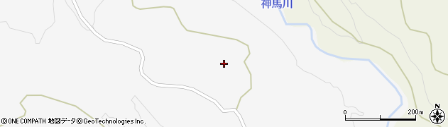 大分県竹田市久住町大字白丹1635周辺の地図