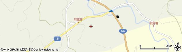 大分県竹田市久住町大字久住5667周辺の地図