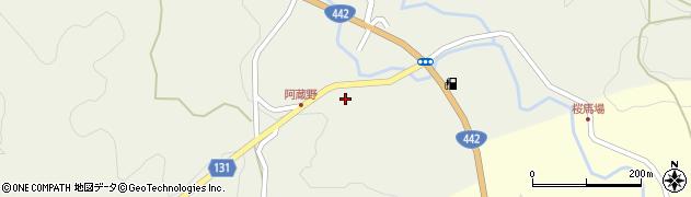 大分県竹田市久住町大字久住5671周辺の地図
