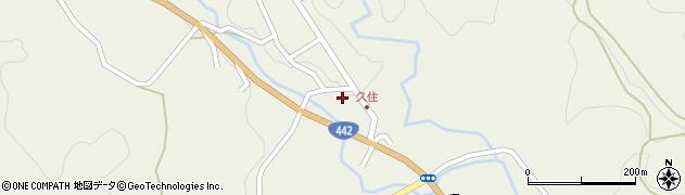 大分県竹田市久住町大字久住6027周辺の地図