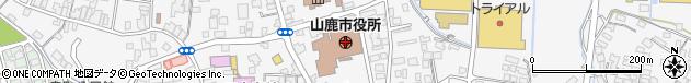 熊本県山鹿市周辺の地図