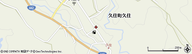 大分県竹田市久住町大字久住6205周辺の地図