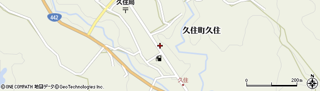 大分県竹田市久住町大字久住6201周辺の地図