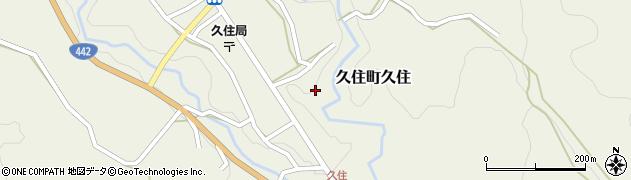 大分県竹田市久住町大字久住下町周辺の地図