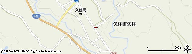 大分県竹田市久住町大字久住6198周辺の地図
