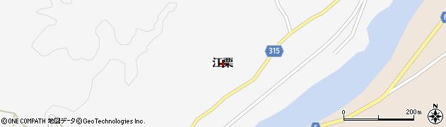 熊本県和水町(玉名郡)江栗周辺の地図