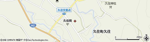 大分県竹田市久住町大字久住6185周辺の地図