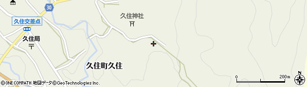 大分県竹田市久住町大字久住6614周辺の地図