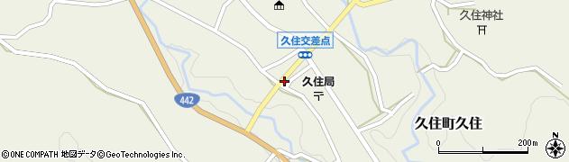 大分県竹田市久住町大字久住5991周辺の地図