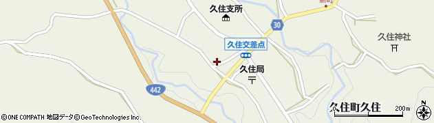 大分県竹田市久住町大字久住5982周辺の地図