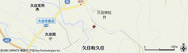 大分県竹田市久住町大字久住6492周辺の地図