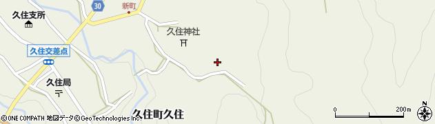 大分県竹田市久住町大字久住6591周辺の地図