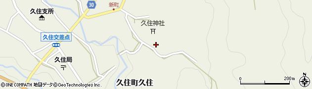 大分県竹田市久住町大字久住6506周辺の地図