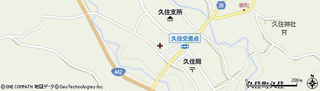 大分県竹田市久住町大字久住5976周辺の地図