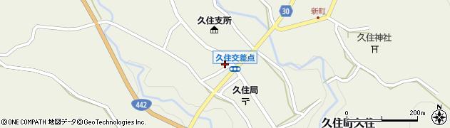 大分県竹田市久住町大字久住6150周辺の地図